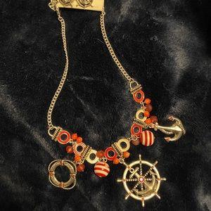 Nautical Necklace/earring set